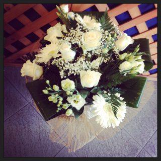 Bouquet per laurea in lettere