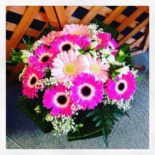 Bouquet Margherita. un bouquet di gerbere anche per festeggiare una laurea