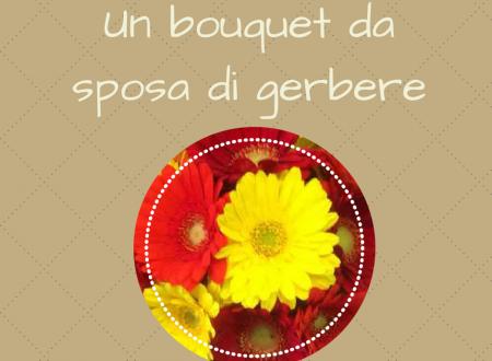 Un bouquet da sposa di gerbere