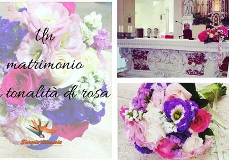 Matrimonio In Rosa : Un matrimonio con tonalità di rosa