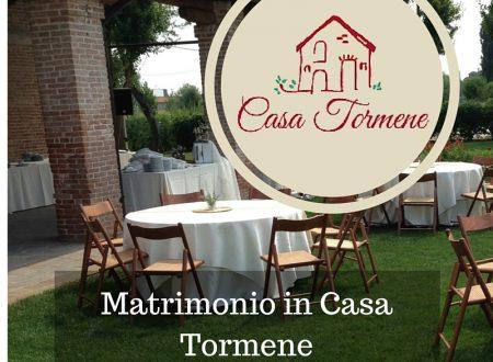 Matrimonio in Casa Tormene