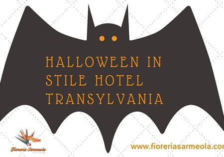 Halloween in stile Hotel Transylvania