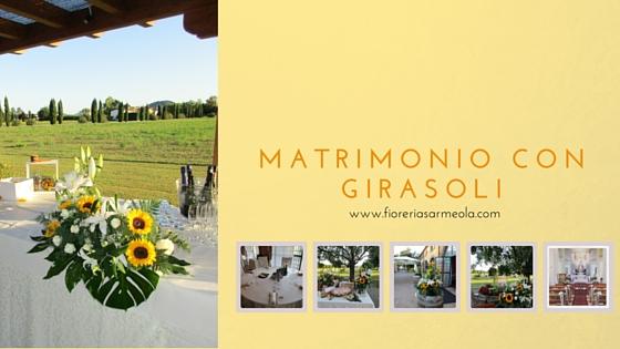 Centrotavola Con Girasoli Matrimonio : Matrimonio con girasoli