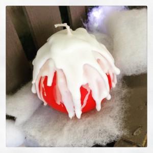 candela palla di neve