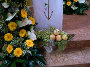 Matrimonio con frutta
