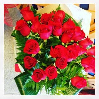 31 rose rosse a Padova online