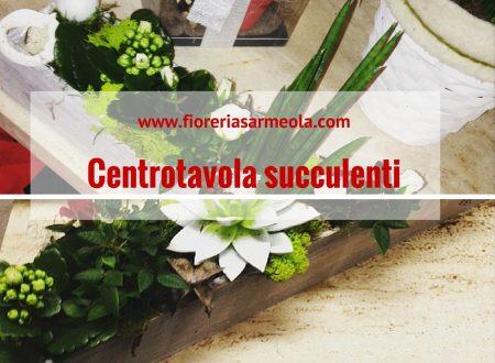 Centrotavola succulenti
