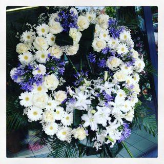 corona funebre per funerale a Padova