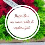 Magic Box, un nuovo modo di regalare fiori.