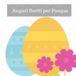 Auguri fioriti per Pasqua