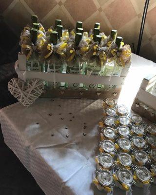 Idee bomboniere per un matrimonio a tema vino