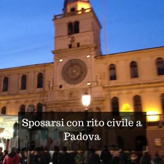 Sposarsi con rito civile a Padova