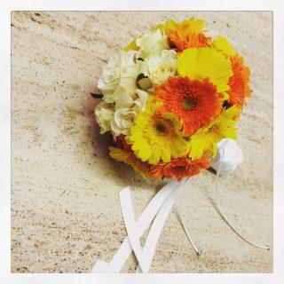 bouquet da sposa di gerbere