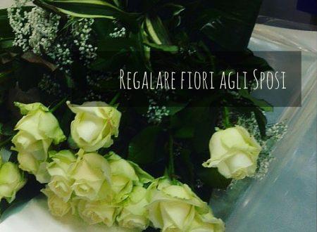 Regalare fiori agli Sposi
