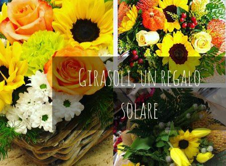 Girasoli, un regalo solare