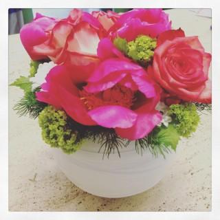 Cestino fiori Festa della Mamma