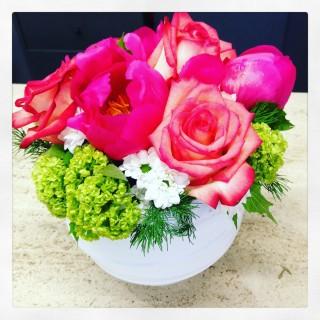 cestini con fiori
