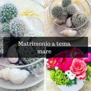 Matrimonio a tema mare