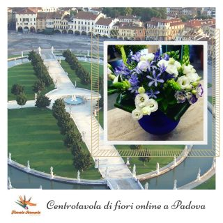 Centrotavola di fiori online a Padova