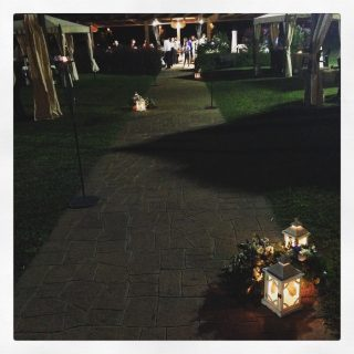 matrimonio con lanterne