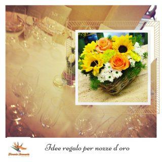 Idee regalo per nozze d 39 oro fiori e piante per 50 anni di for Idee regalo per venticinque anni di matrimonio