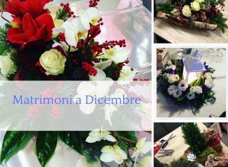 Matrimoni a Dicembre: allestimenti floreali d'Inverno