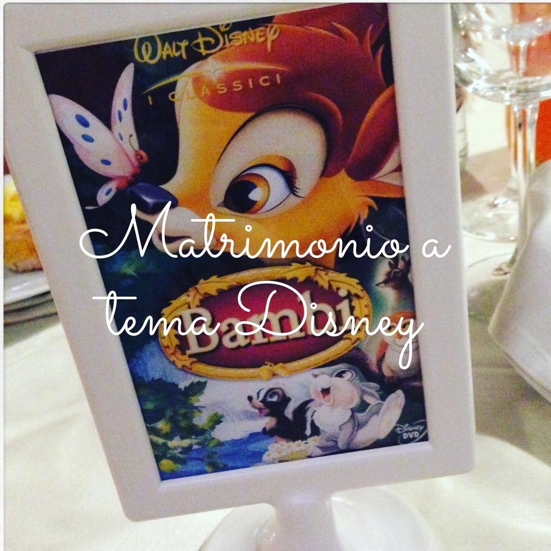 Matrimonio Tema Walt Disney : Matrimonio a tema disney