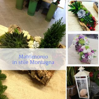 Matrimonio in stile Montagna