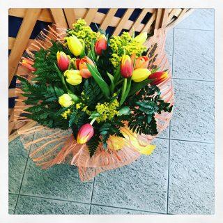 Il Bo, il bouquet di tulipani dedicato agli studenti