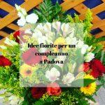 Idee fiorite per un compleanno a Padova