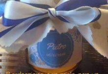 Bomboniere con miele per un dolce battesimo