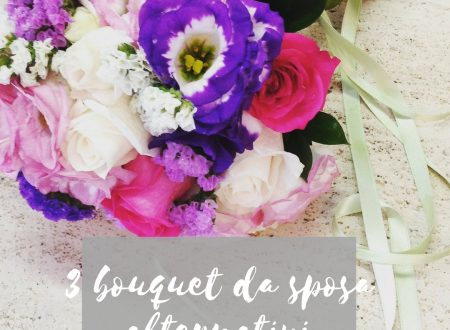 3 bouquet da sposa alternativi