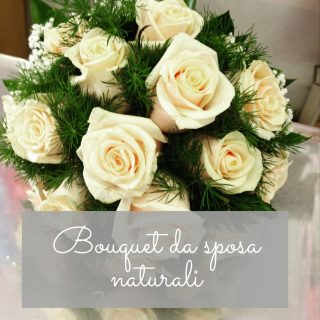 Bouquet da sposa naturali