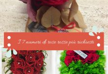 I 7 numeri di rose rosse più richiesti