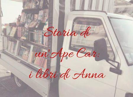 Storia di un'Ape Car: i libri di Anna
