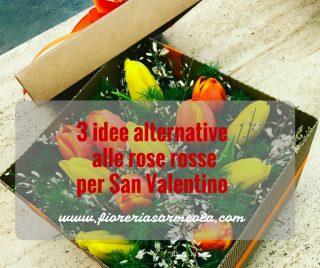 3 idee alternative alle rose rosse per San Valentino