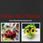 Emoticon, fiori e Whatsapp