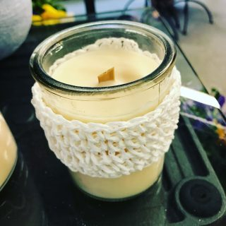 candele proumate in stile Shabby Chic