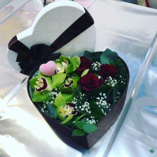Fiori in scatola per San Valentino e non solo