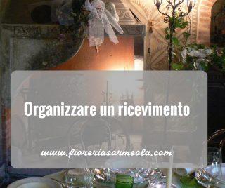 Organizzare un ricevimento