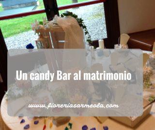 Un candy Bar al matrimonio