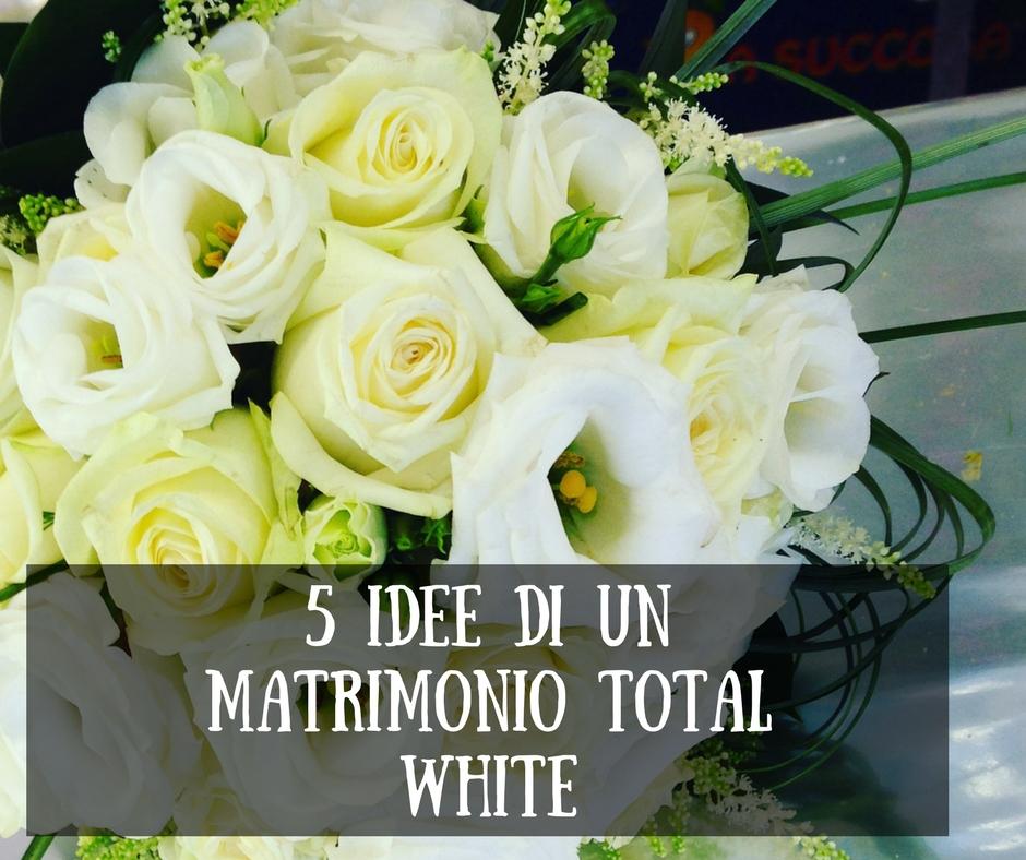 Matrimonio In Total White : Idee di un matrimonio total white fiorite