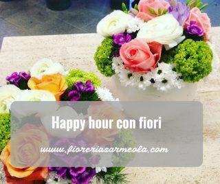 Happy hour con fiori
