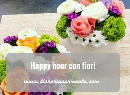Happy hour con fiori