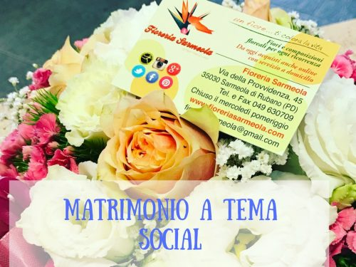 Matrimonio a tema social.