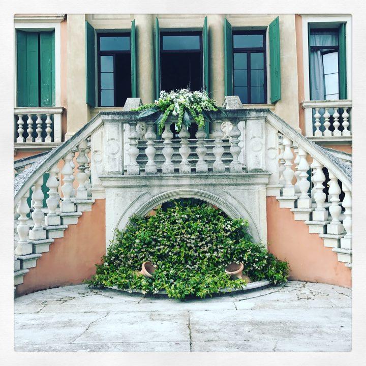 Un particolare di un matrimonio in Villa Giovanelli Venier