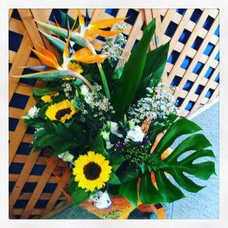 composizione di fiori per compleanno a Padova