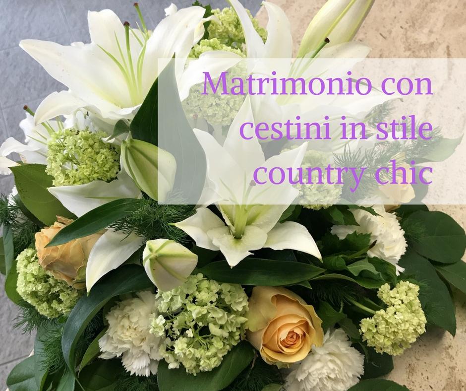 Matrimonio Country Chic Significato : Matrimonio con cestini in stile country chic idee fiorite