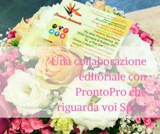 Una collaborazione editoriale con ProntoPro che riguarda voi Sposi