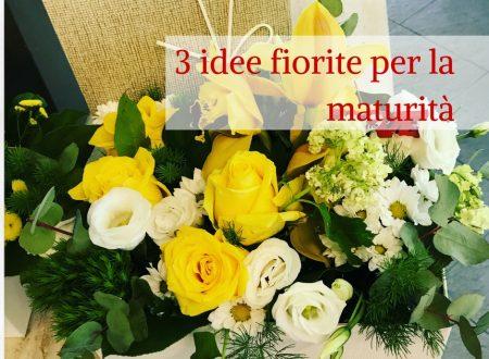 3 idee fiorite per la maturità